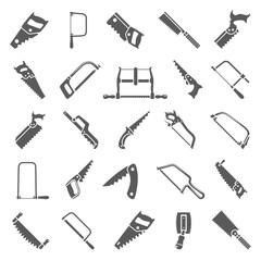 Black Icons - Hand Saws