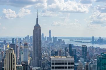 Manhattan New York Skyline Panorama