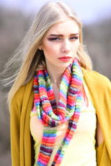 A model from modeling agency  Sensual fashion model  Beauty