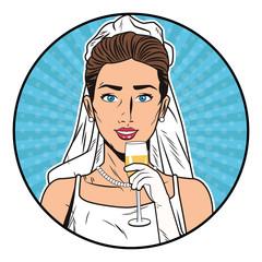 Pop art bride
