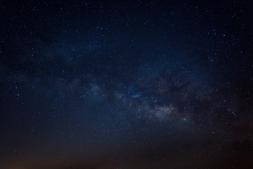 Milky way night stars