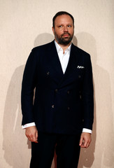 Director Yorgos Lanthimos arrives at the UK Premiere of The Favourite during the London Film Festival, in London