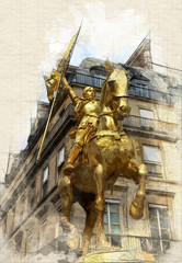 Joan of Arch in Paris