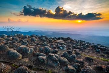 Mountain Viewpoint at Phu Hin Rong Kla National Park