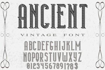 Vintage Font handcrafted vector Font.Alphabet.Script.Typeface.Label.vector named barberVintage Font handcrafted vector Font.Alphabet.Script.Typeface.Label.vector