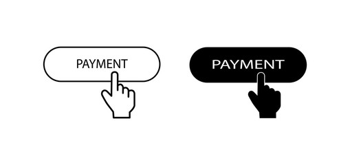 Contour and silhouette buttons labeled payment