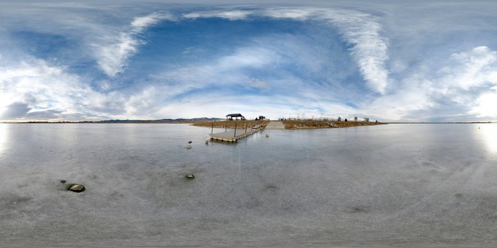 Lagerman Reservoir In Niwot, Colorado, Longmont, United States