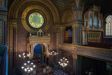 Spanish Synagogue of Prague, Czech republic
