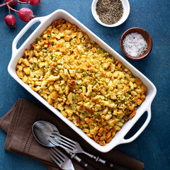 Traditional stuffing for Thanksgiving or Christmas