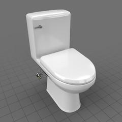 Modern flush toilet