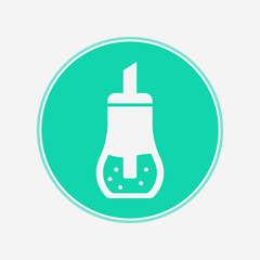 Sugar dispenser vector icon sign symbol