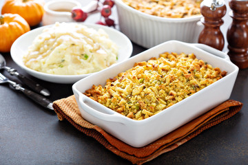 Traditional stuffing for Thanksgiving