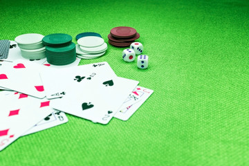 Background and texture for casino poker for money