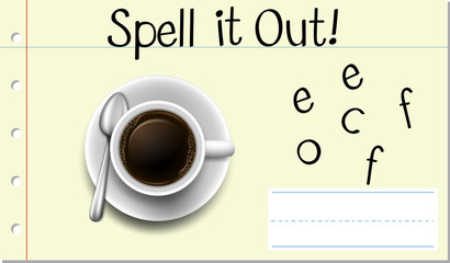 Spell it out Coffee