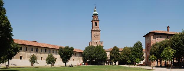 Fototapete - Castello di Vigevano