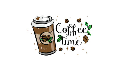 coffee time in the morning