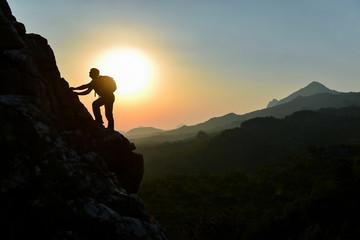 climber, adventurer, explorer and discovering