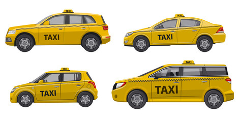 taxi service cars
