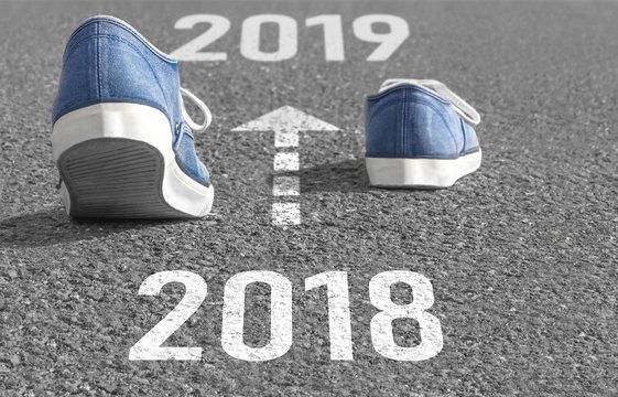 Das Jahr 2018 ist vergangen - auf ins Jahr 2019