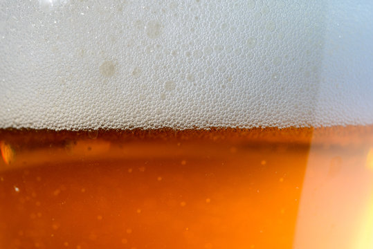 IPA Craft Beer bubbles background texture