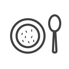 Appetizer vector icon