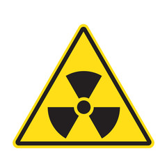Grunge Radiation sign