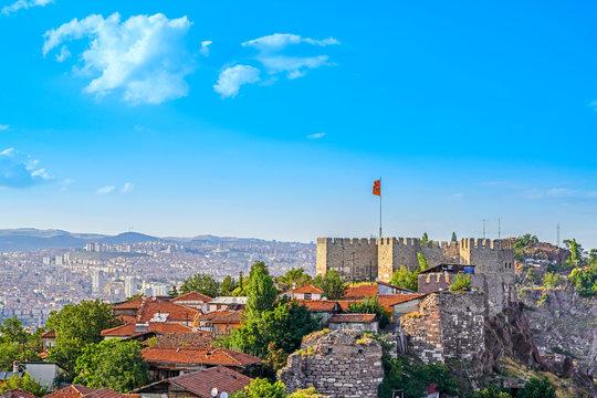 Citadel of Ankara - Ankara, Turkey.