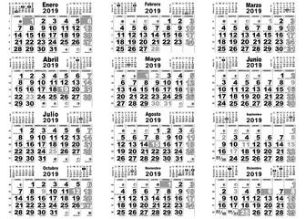 Calendario Santoral.Calendario Santoral Lunar 2018 Buy This Stock Vector And