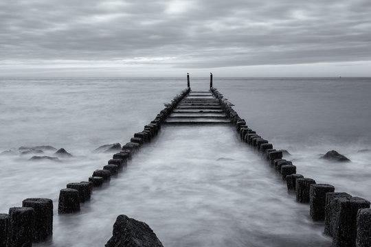 pier on the sea