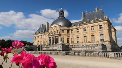 Château de Vaux-le-Vicomte en Seine-et-Marne, région parisienne (France)