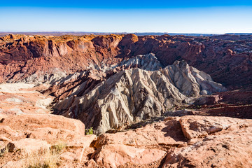 Canyon Lands National park in Utah United States of America