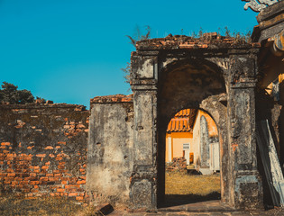 entrance in Imperial City, Hue, Viet Nam