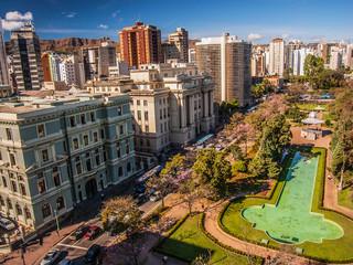 Photo sur Toile Brésil aerial view of Belo Horizonte Brazil