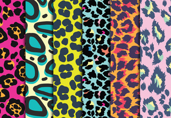 Animal Print Pattern Set