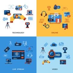 Digital vector video on demand technology