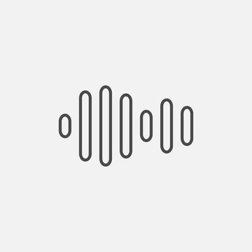 Sound line icon