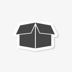 Package Delivery sticker, Box icon