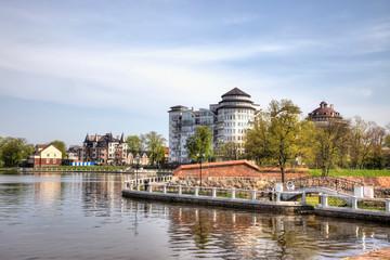Embankment of the Upper Pond. Kaliningrad