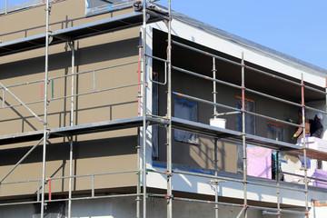 Malerarbeiten, Fassadenanstrich