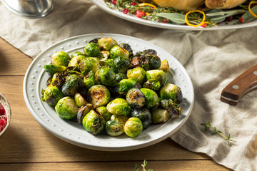Poster Brussels Healthy Roasted Brussel Sprouts