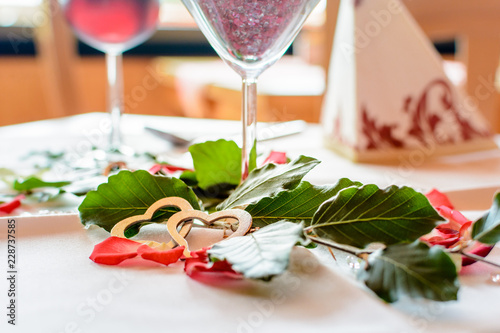 Menu Essen Zum Valentinstag Stock Photo And Royalty Free Images On