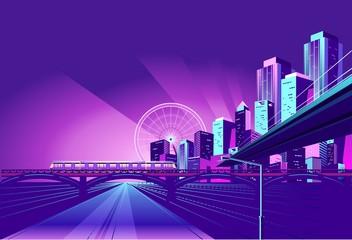 Night Neon City