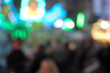 Jahrmarkt - Kirmes - Volksfest - Stockfoto