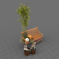 Patio decor set
