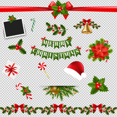 Xmas Big Collection Transparent background