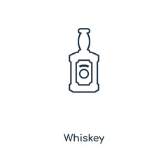 whiskey icon vector