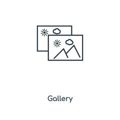 gallery icon vector
