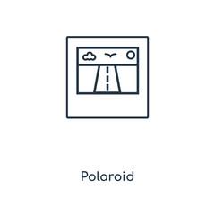 polaroid icon vector