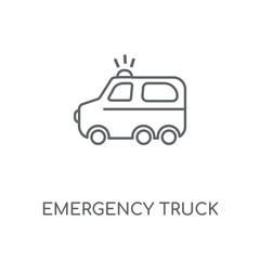 emergency truck icon