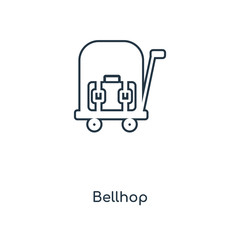 bellhop icon vector